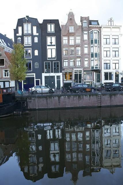 Sunrise in Amsterdam  |  Netherlands