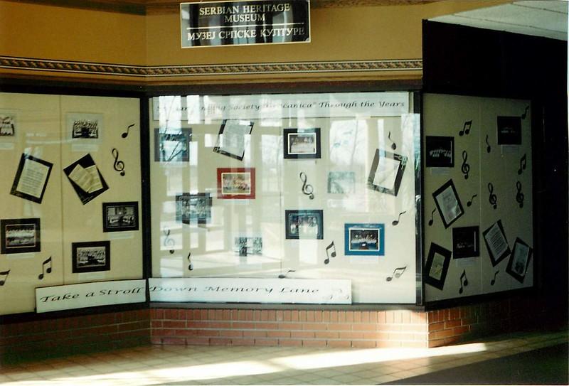 50th Anniversary of Serbian Singing society 'Gracanica' - November 6, 1999 - December 15, 1999