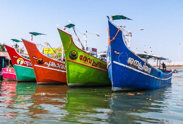 Fleet of color