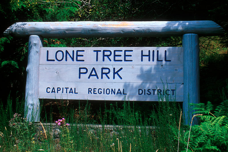 Lone Tree Hill Park, Highlands, Saanich Peninsula, Victoria, Vancouver Island, British Columbia, Canada