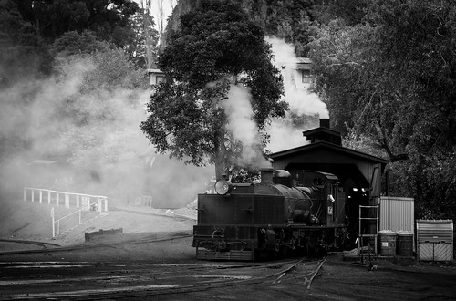 Raising steam   by michaelgreenhill