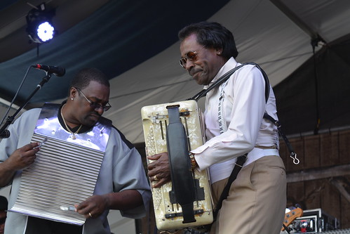 Buckwheat Zydeco. Photo by Kichea S Burt.