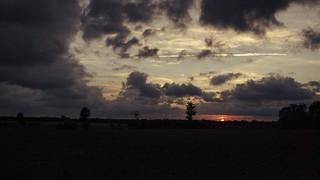 Sun Cloud Evening