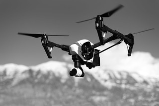 Drone Black and White | by ThoroughlyReviewed