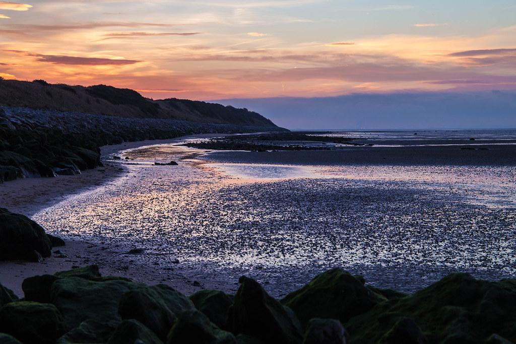 Caldy Beach Sunrise In Winter