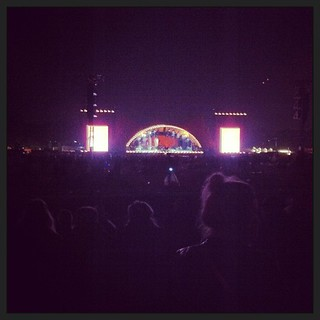 Waiting for the late perfomance #orangefeeling #rf13 | by Simon Fredslund