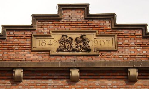 Detail: Roofline, Saint Andrew's Hall (Formerly Saint Andrew's Benevolent Society), 434 East Congress Street--Detroit MI