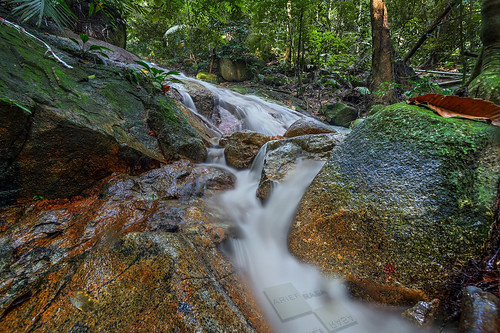 water rock creek forest river waterfall moss nikon stream afternoon cloudy dry falls clear jungle lee tamron hdr frim d600 kepong