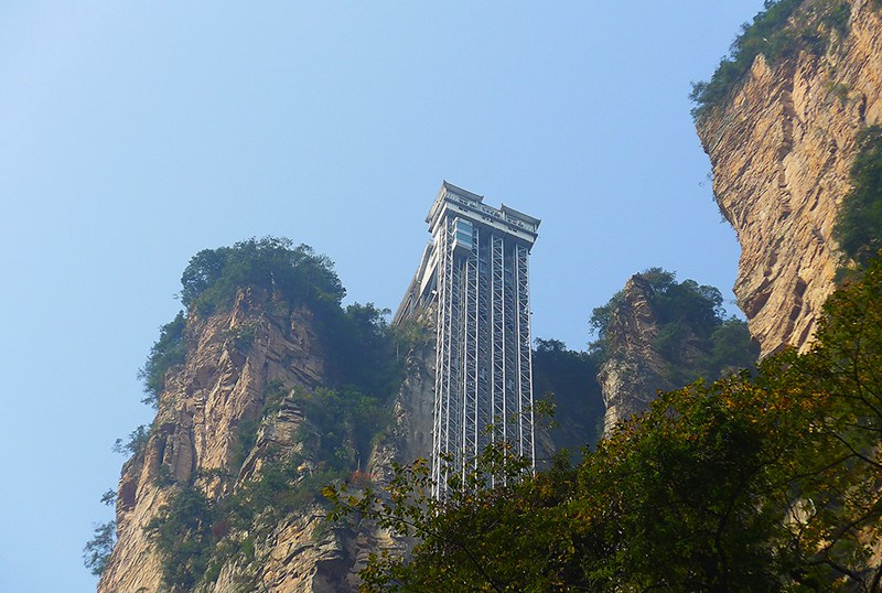 4 -  Zhangjiajie Wulingyuan Core Scenic Area 张家界 武陵源 核心景區- P1020974