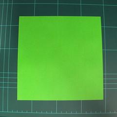 วิธีพับกระดาษเป็นจรวด X-WING สตาร์วอร์ (Origami X-WING) 001