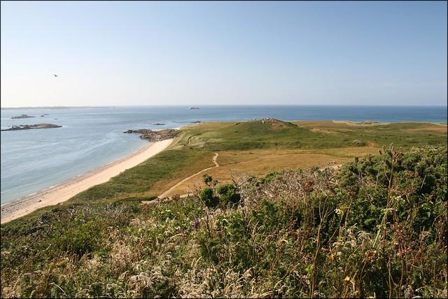 The north coast of Herm
