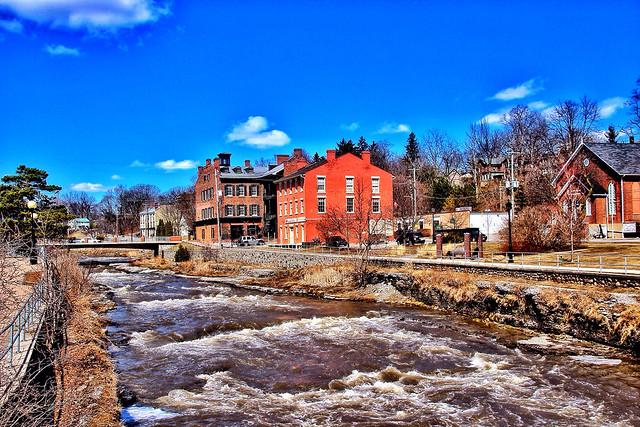 Port Hope ~ Ontario ~ Canada ~ Ganaraska River ~  Historical Downtown