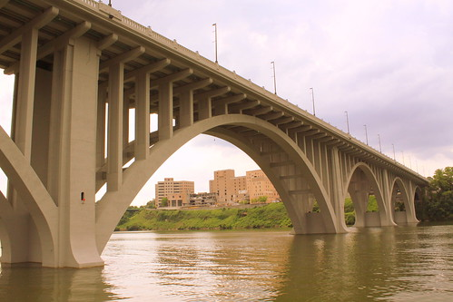bridge tn knoxville tennessee tennesseeriver archbridge chapmanhighway henleystreetbridge us441 concretearchbridge henleybridge bmok openspandrel openspandrelarchbridge