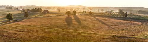 panorama sunrise canon landscape gettysburg 60d