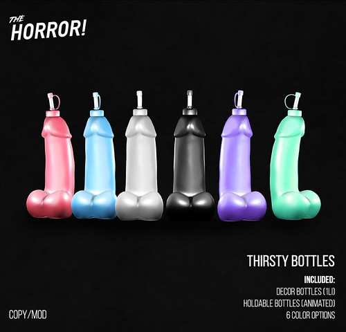 The Horror!~ Thirsty Bottles @ ROMP