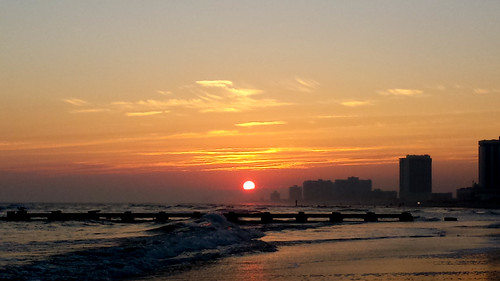 atlanticcity nj newjersey weekends yuridedulin sunset ocean beach jerseyshore shore southjersey jerseybeach