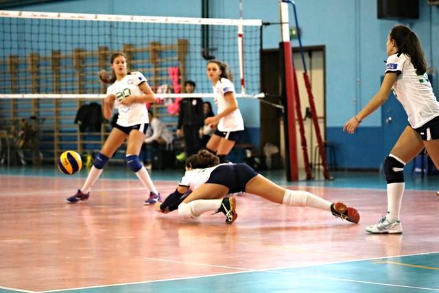 Campionato Fipav U16 Bianca 20 Novembre 2016 Pro Patria Volley Rondò Muggiò Vero Volley 1 - 3