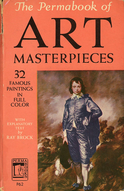 Perma Books P62 - Ray Brock - The Permabook of Art Masterpieces