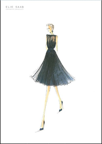 Elie Saab F W 2013 2014 Sketch Sarahal Flickr