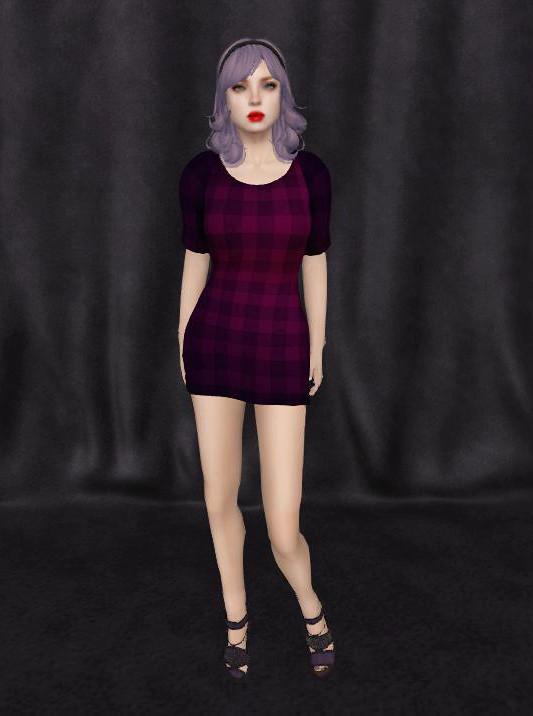 Purple Chequers