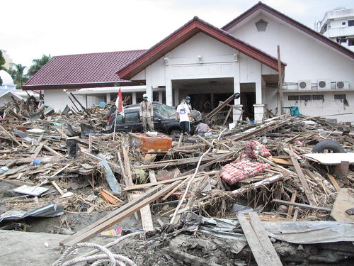 Tsunami 2004 aftermath. Aceh, Indonesia, 2005. Photo: AusAID | by DFAT photo library