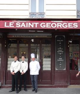 Le Saint Georges - garçons et cuisinier