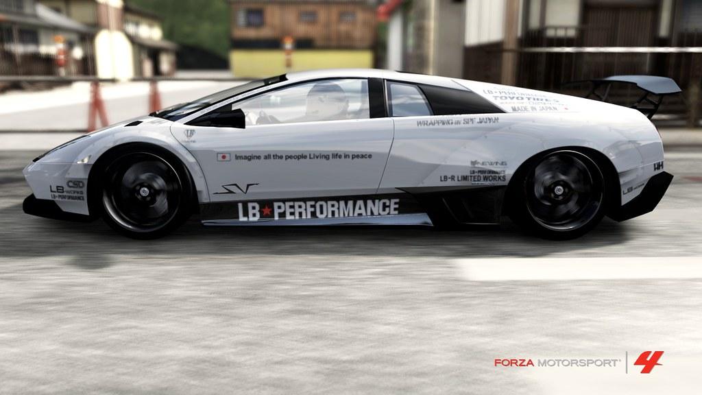 Lamborghini Murcielago Sv Original Replica Of Liberty Walk Flickr