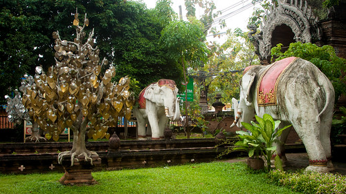 2013-11-20 Thailand Day 13, Wat Lok Moli, Chiangmai | by Qsimple, Memories For The Future Photography
