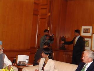 Secretary of State Condoleezza Rice visited New Delhi, India on March 15-16, 2005