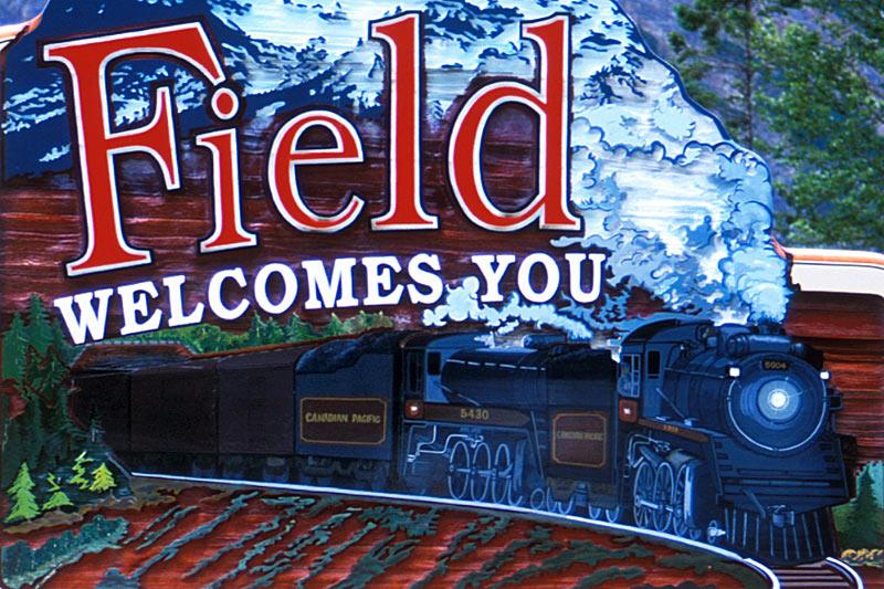 Field, Yoho National Park, BC Rockies, Kootenay Rockies, British Columbia, Canada