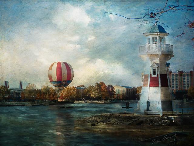 Premier vol en Ballon