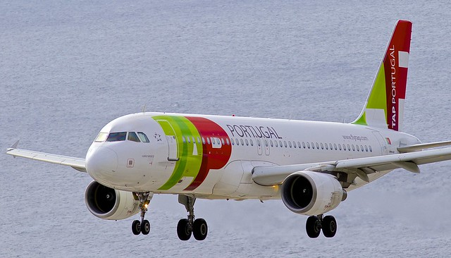 FNC/LPMA: TAPPortugal Airbus A320-214