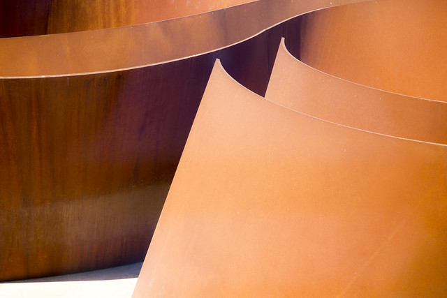Abstract of Rusted Steel