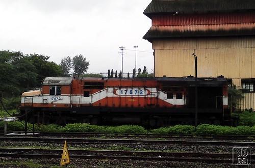 station diesel shed locomotive jumbo mirah miraj wdm wdm2