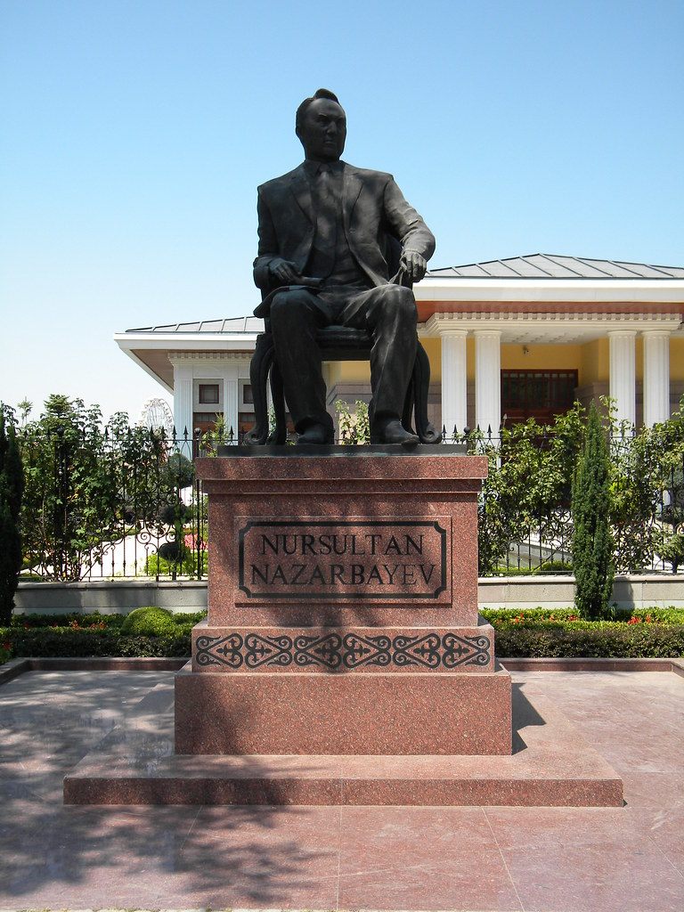Nursultan Nazarbayev statue, Ankara | Timon91 | Flickr