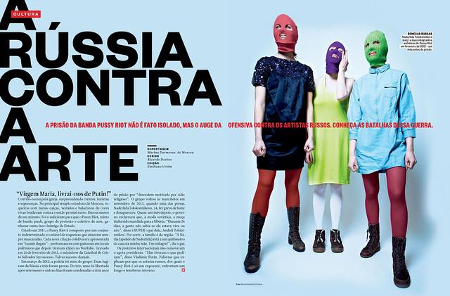 A Rússia contra a arte