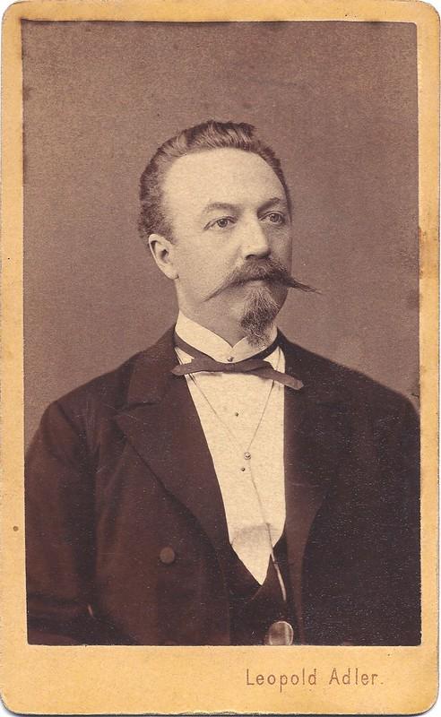 An early portrait by Leopold Adler