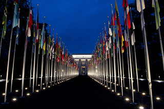 Palais des Nations by night   by UN Geneva