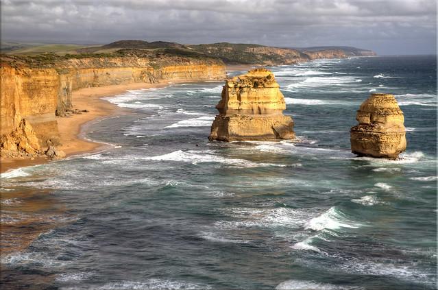 Two of the Twelve Apostles, Great Ocean Road