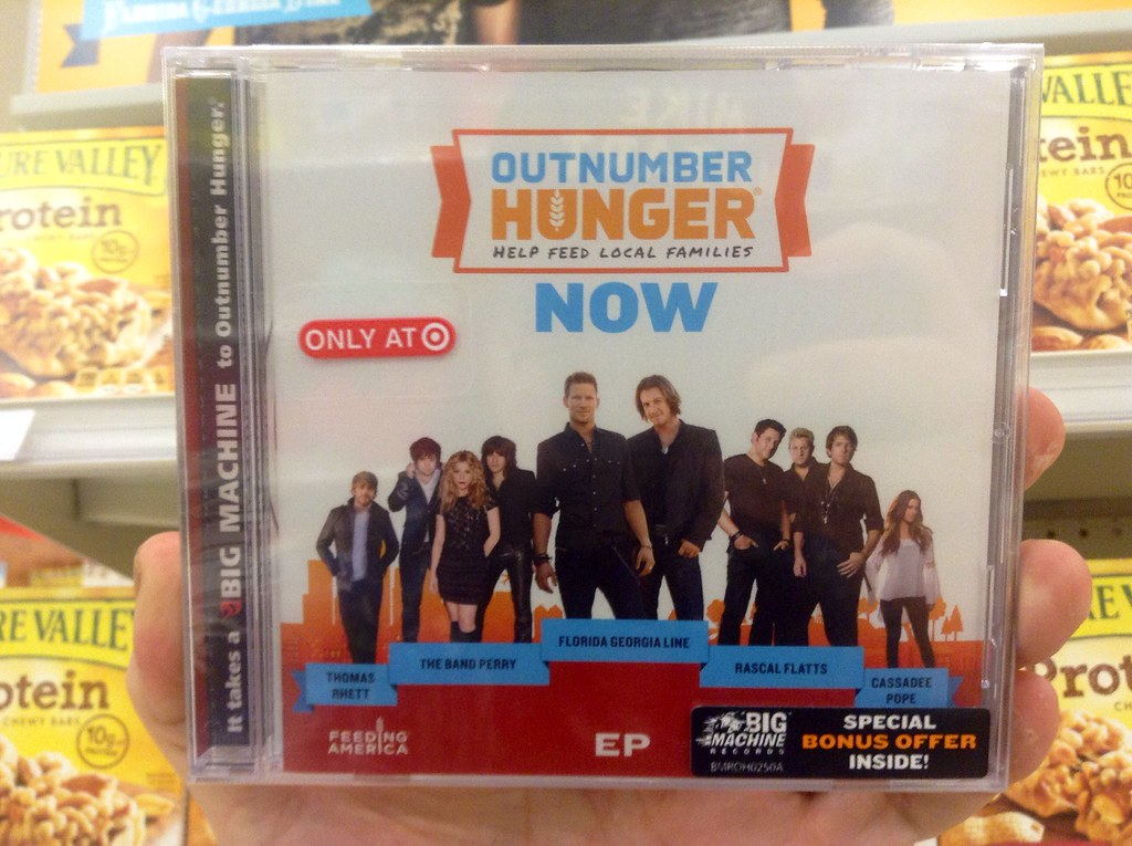 Outnumber Hunger Charity Promotion with Target Exclusive M