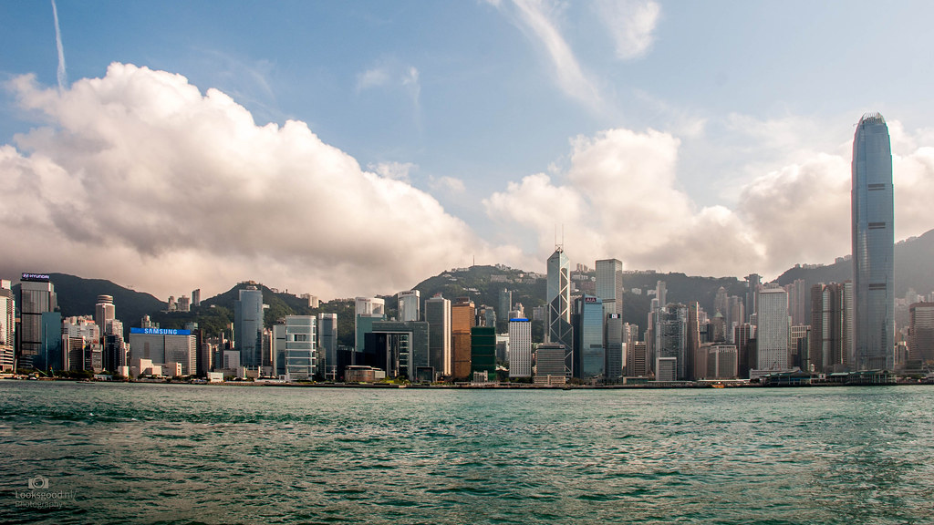 Hong Kong Skyline 4k Wallpaper Desktop Background Flickr