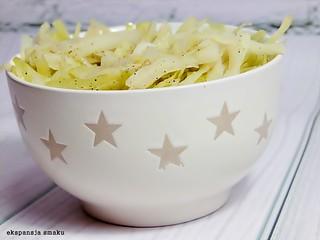 Cabbage salad for dinner