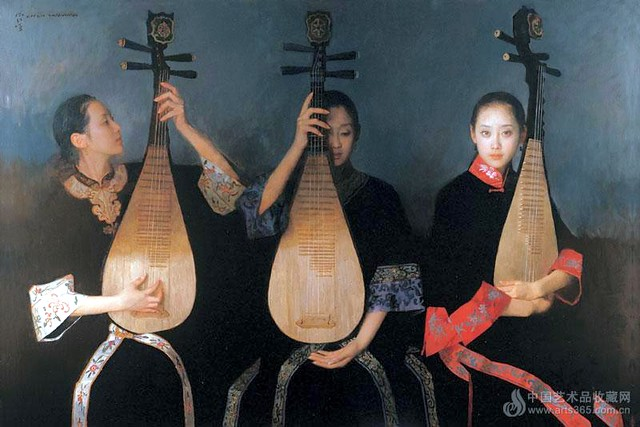 Chen Yanning (1945- ) - 2006 As the Curtain is About to Rise