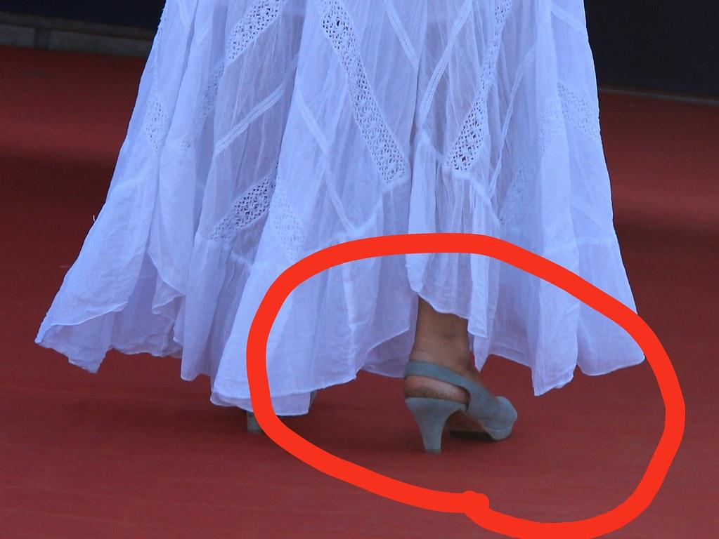 les chaussures neuves c'est terribles