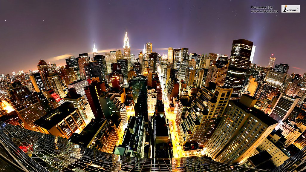 Abstract City Night Fantasy Hd Nature Street New York Wall Flickr
