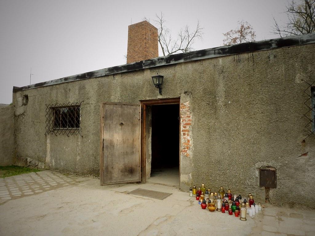 Chambre gaz et cr matorium auschwitz birkenau pologne - Existence des chambres a gaz ...