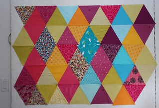 Equilateral Triangles - Diamond Arrangement | by Everyday Fray