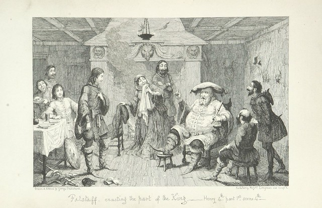 """British Library digitised image from page 117 of """"The Life of Sir John Falstaff"""""""