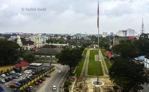 asia malaysia lookouttower kelantan eos1000d kotabudaya bandarrayaislam viewofkotabharu visitkelantan2014