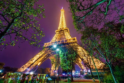 The Eiffel Tower From A Park In Paris | by Tom.Bricker